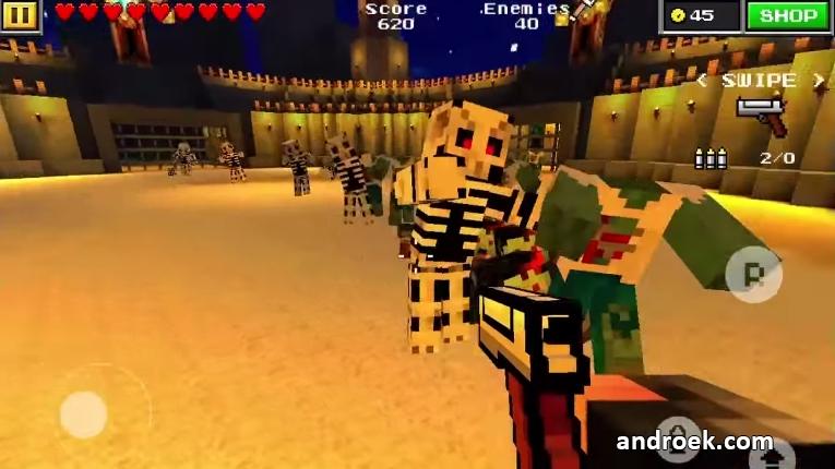 Играть В Пиксель Ган 3д