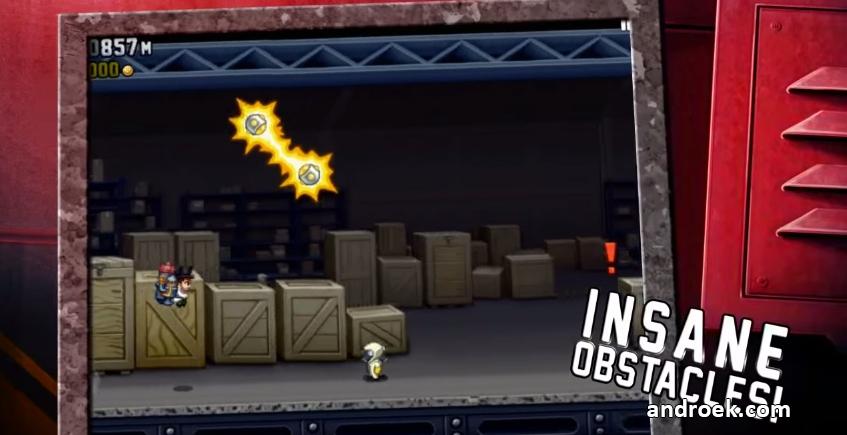 скачать игру Jetpack с бесконечными деньгами - фото 11