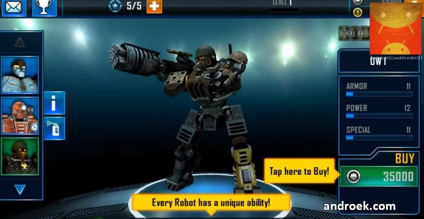Скачать Взломанный Real Steel World Robot Boxing