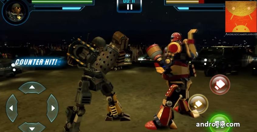 сила робота игра