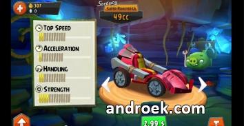 Angry Birds Go бесконечные деньги и кристаллы