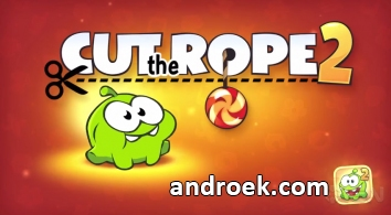 Cut the Rope 2 взломанный  (full)