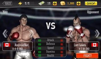Царь бокса - Punch Boxing 3D взломанная на много денег