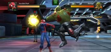 Marvel: Битва чемпионов взломанная на много денег