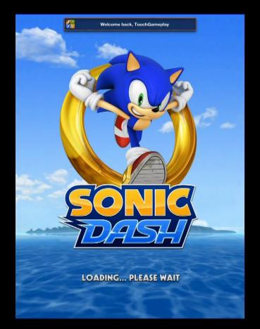 sonic dash взломанный скачать