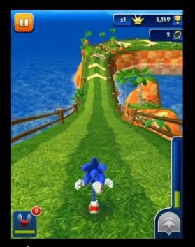 Взломанная Sonic Dash чит много денег