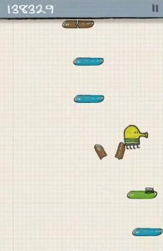 Взломанный Doodle Jump чит бесконечные деньги