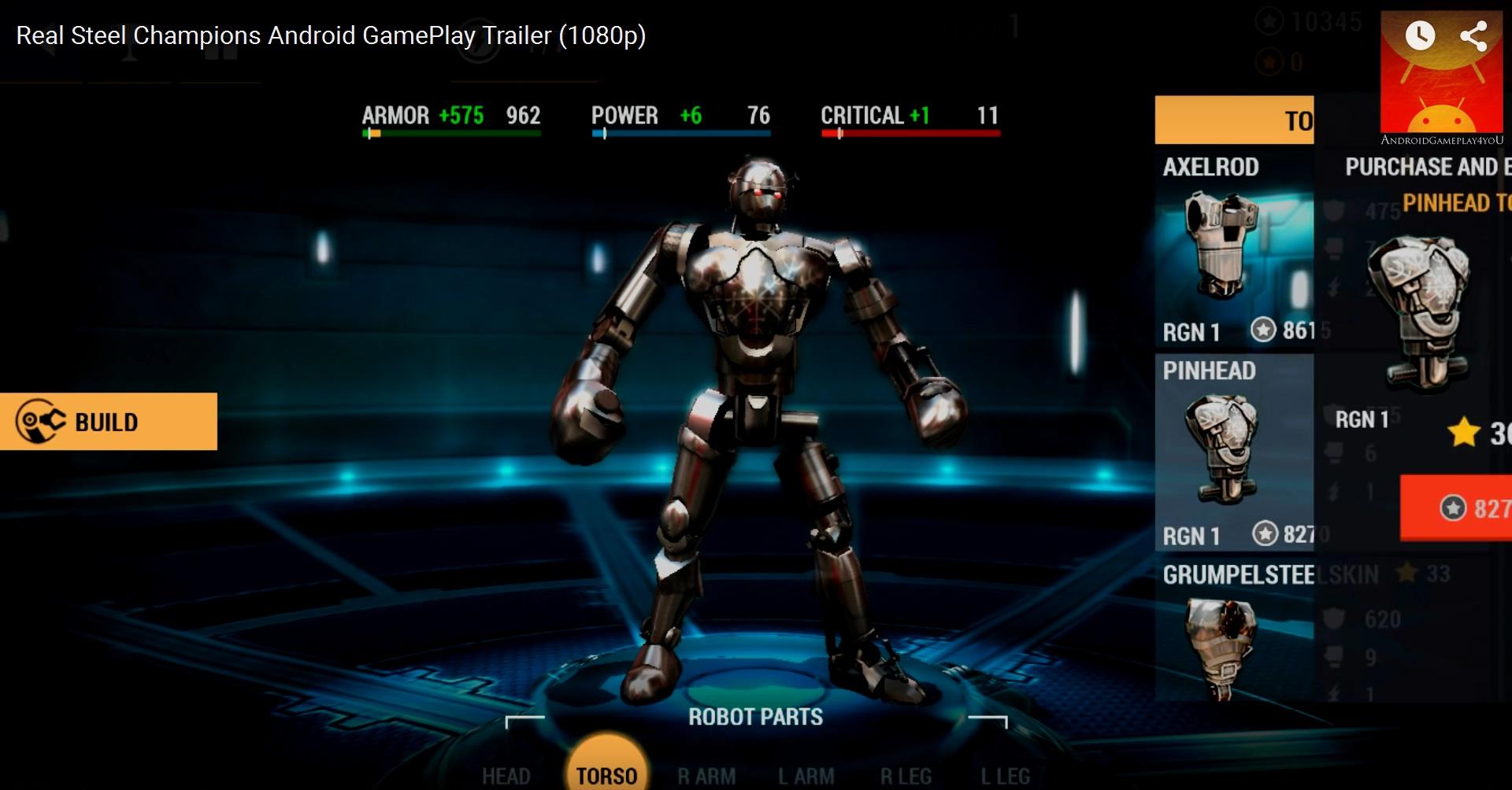 Real Steel World Robot Boxing v Мод (Много денег) » www.poegosledam.ru - Моды, игры, взломы, хаки, много, денег все на твой Android!