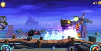 Взломанный Angry Birds Transformers (Мод много денег)