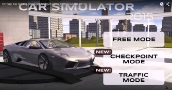 Extreme Car Driving 3D взломанная версия (чит)