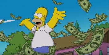 Взлом The Simpsons: Tapped Out (мод бесконечные пончики)