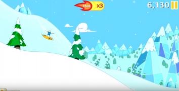Взломанная Ski Safari: Adventure Time на много денег