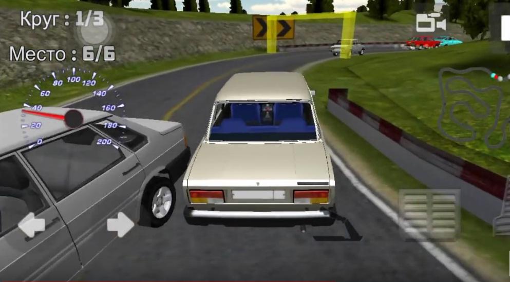 авто гонки игр