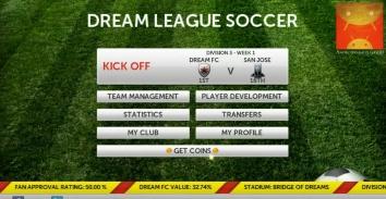 Dream League Soccer взломанная (мод бесконечные деньги)