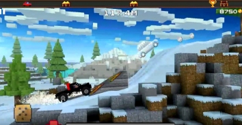 Blocky Roads взломанная (Мод много денег)