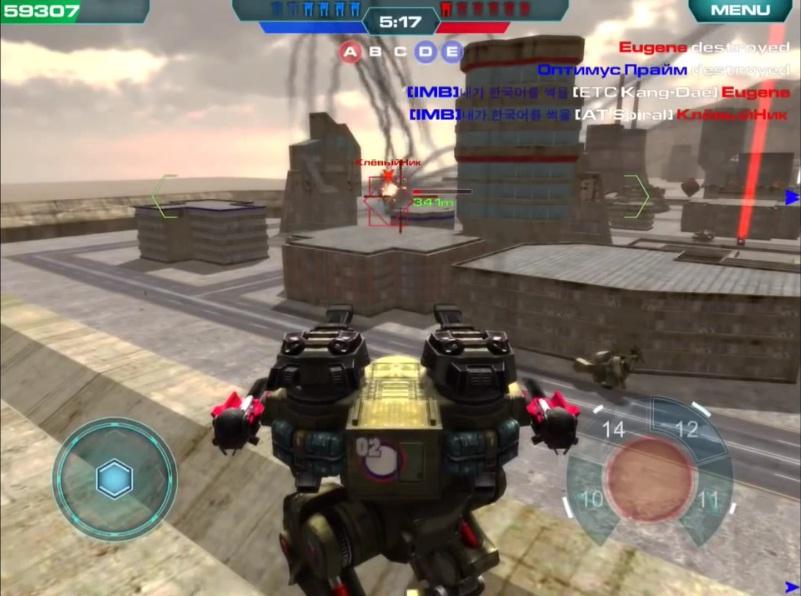 Скачать на андроид игру про робота
