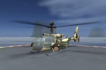 ВЕРТОЛЕТ БИТВА : 3D полет взломанная на много денег