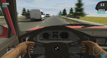 Racing in Car взломанная