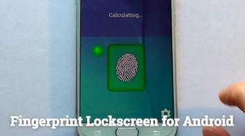 Блокировка Экрана Отпечатком Пальца