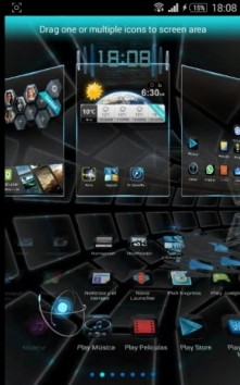 Next Launcher 3D Shell Lite полная версия