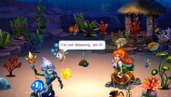 Fishdom: Deep Dive взломанный на много денег
