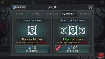 Dark Sword взлом (Мод много денег)