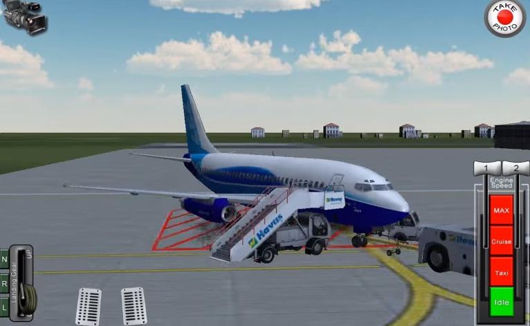 Скачать Flight 787 - Advanced на Андроид (взломанный)