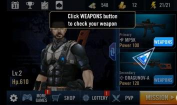 Взлом Elite Killer: SWAT (Мод много денег)