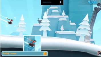 Взломанный Ski Safari 2