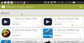 Neutron Music Player полная версия