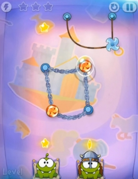 Cut the Rope: Time Travel взломанный (Мод)