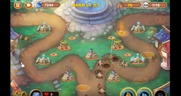 Castle Defense  взлом на много кристаллов