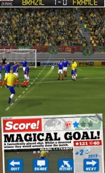 Score! World Goals взломанный на много денег