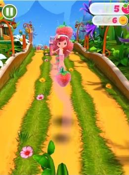 Шарлотта Земляничка Berry Rush взломанная