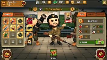 Pocket Troops взломанный (Мод много денег)