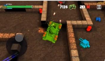 Взломанный Block Tank Wars (Мод много денег)
