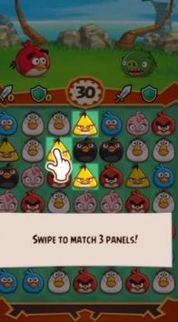 Angry Birds Fight! взломанный (Мод много кристаллов)