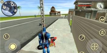Rope Hero: Vice Town взломанный