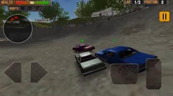 Взломанная Demolition Derby: Crash Racing на много денег