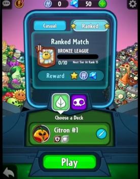 Взлом Plants vs. Zombies Heroes (Мод много денег)