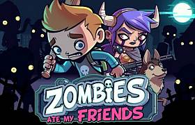Взломанная Zombies Ate My Friends (Мод)