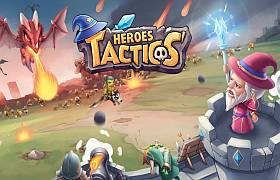 Взломанная Heroes Tactics: War & Strategy