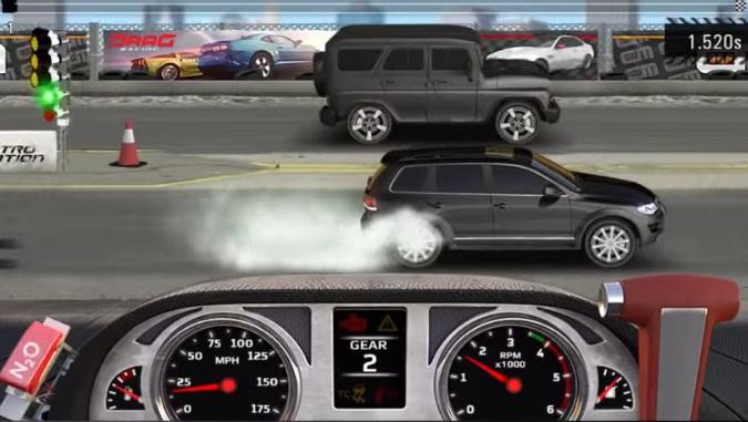 Drag Racing 4x4 взломанный (Мод много денег) скачать на Андроид
