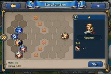 Взломанная Heroes Tactics: War & Strategy