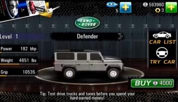 Drag Racing 4x4 взломанный (Мод много денег)
