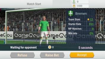 Soccer Shootout взломанный (Мод много денег)