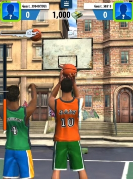 Взломанный Basketball Stars на много денег