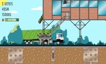 Взломанный Trucker Joe (много денег)
