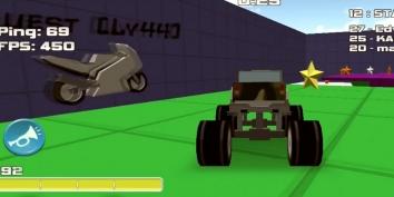Взломанный Stunt Car Racing - Multiplayer на много денег