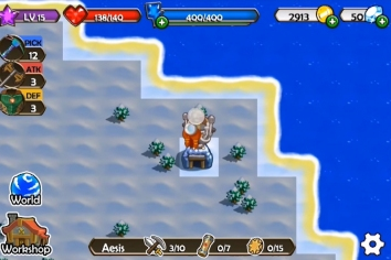 Mine Quest взломанная (чит)